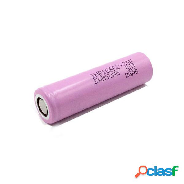 1 Unids SAMSUNG INR18650-35E 18650 Potencia Batería 3500