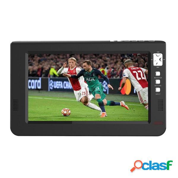 10.1 portátil TFT LED DVBT2 TV analógica digital 1080P