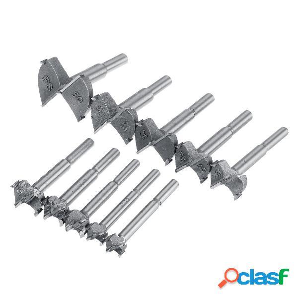 10 Unids Forstner Taladro Kit de cortador de bits Agujero