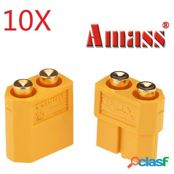 10 par amasar PCB dedicada XT60-p conector macho y hembra