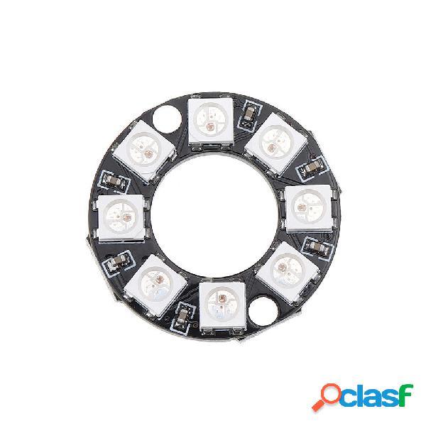 10 piezas 8 bits WS2812 5050 RGB LED Tablero de desarrollo