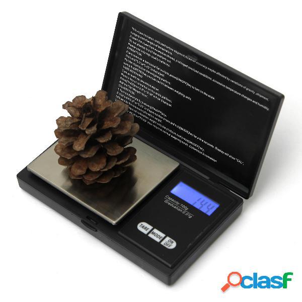 100g x 0.01g escala digital de bolsillo joyería de