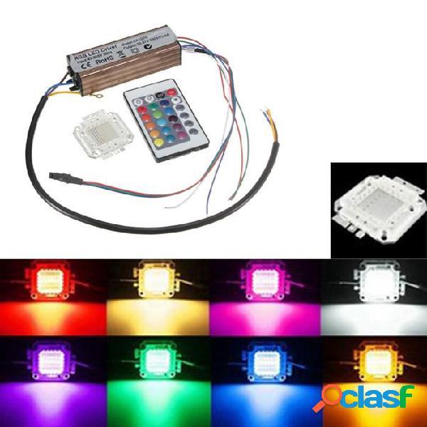 100w bombilla de chips rgb impermeable LED fuente de