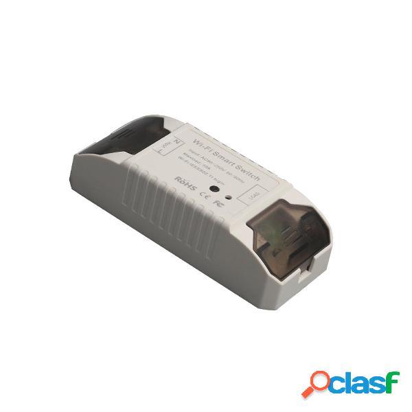10A Wifi Interruptor de luz inteligente Control remoto