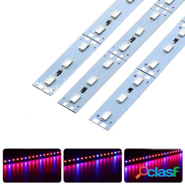 10PCS 50CM SMD5630 Rojo: Azul 3: 1/4: 1/5: 1 LED Cultivo de