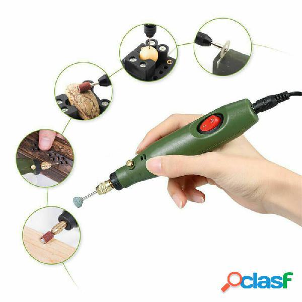 10W 18000r / m Mini Electric Taladro DIY Rotary herramientas
