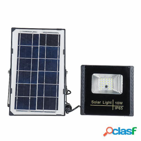 10W 22 LED Solar Luz de punto de inundación de energía al