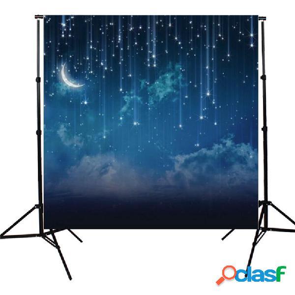 10x10FT Sky Star River Moon noche fotografía estudio vinilo