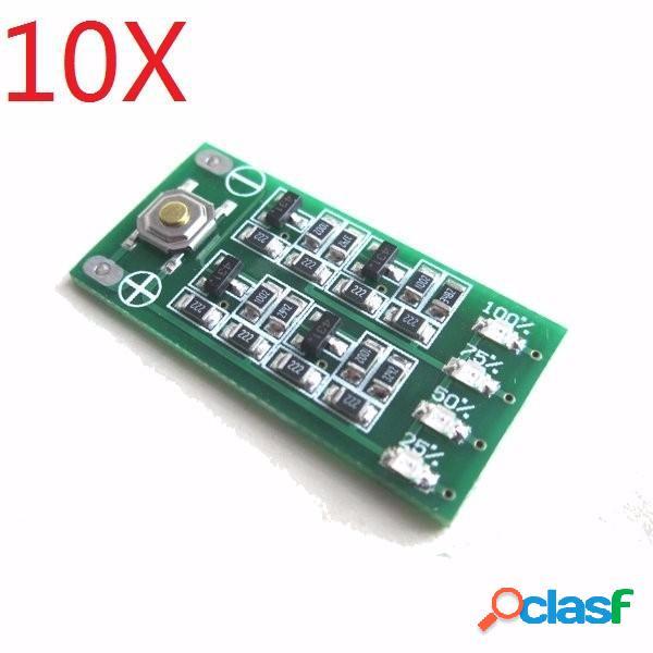 11.1v 12v 12.6v lipo batería de nivel de energía indicador