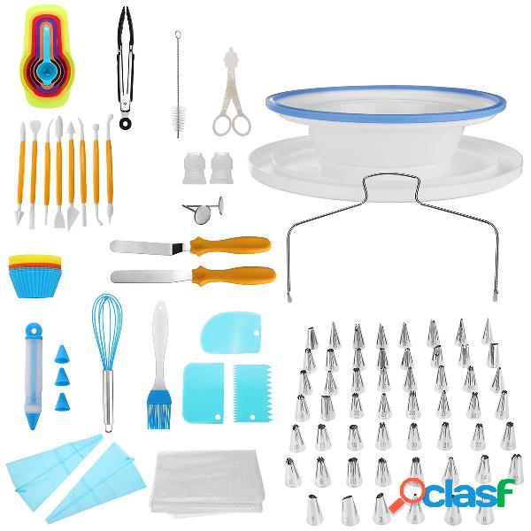 118 UNIDS Decoración de Pasteles herramientas Set DIY