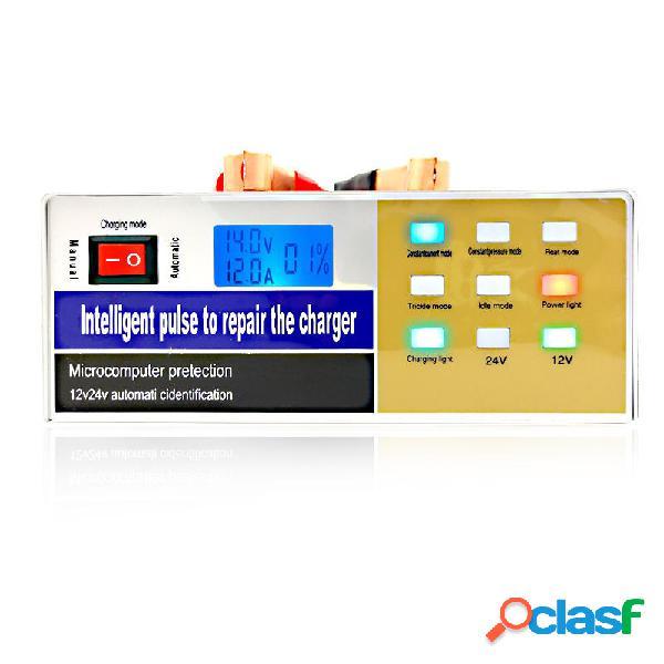 12 / 24V Coche Batería Cargador Smart Pulse Repair