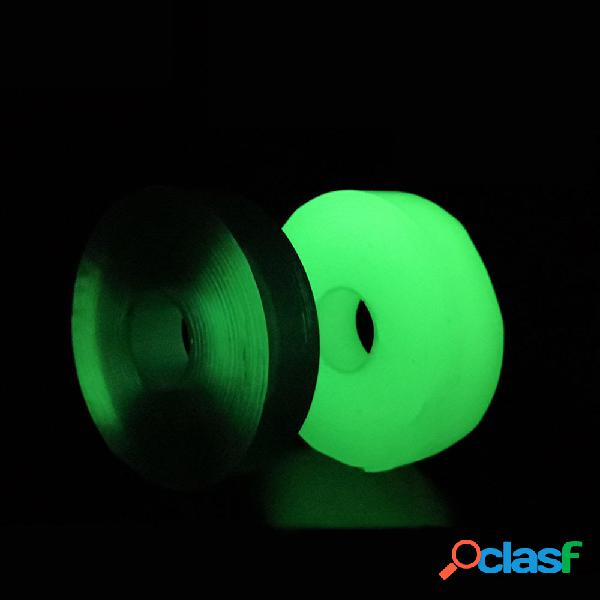 1/2/3 / 5Mx30mm Nano Cinta fluorescente de PU Cinta de doble