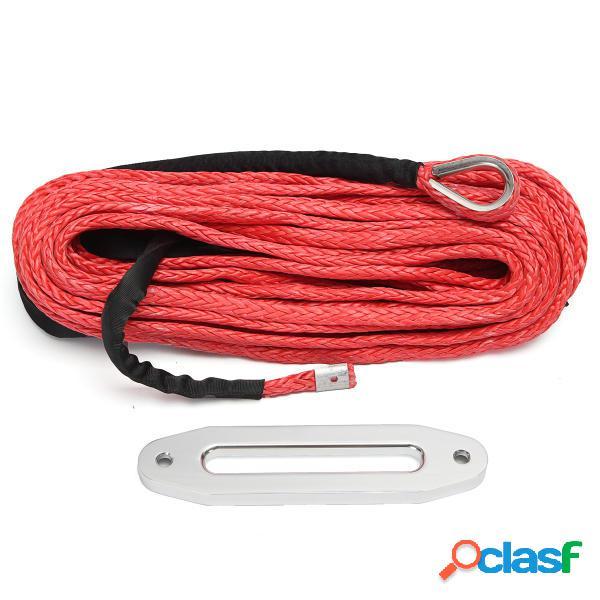 12MMX30M 12000lbs Sintético Cuerda Ancla de Cable de