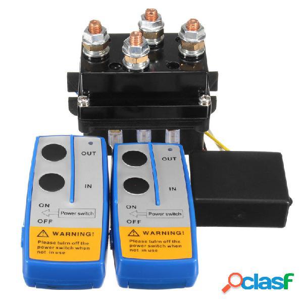12V 500Amp HD Cabrestante Eléctrico Contactor Winch Control