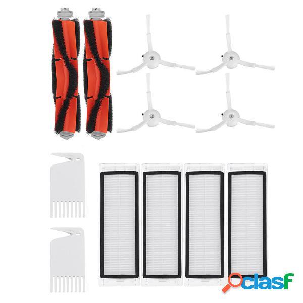 12pcs Main Cepillo con filtro HEPA y lado Cepillo para robot