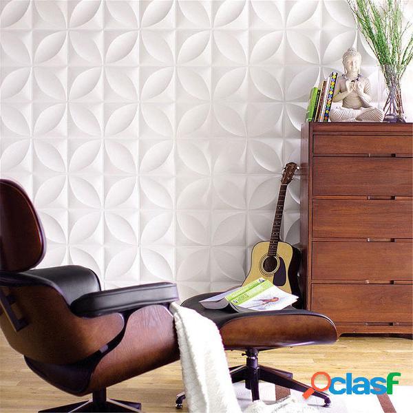 12pcs / set 3D Panel de pared Decoración Azulejos de techo