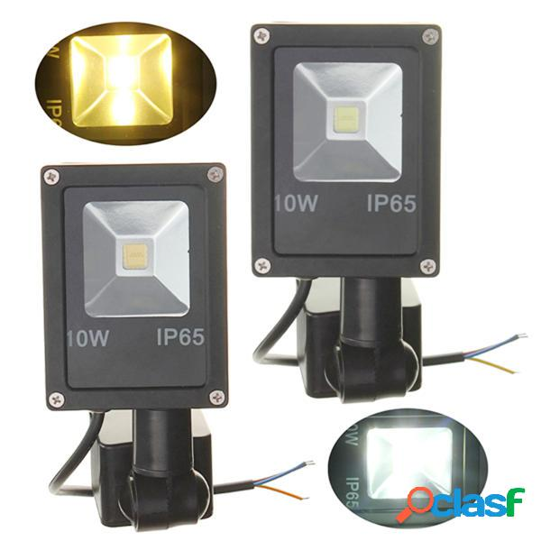 12v sensor de movimiento pir 10w LED ip65 la luz de