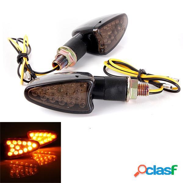 14 LED indicadores de señal de giro de la motocicleta de la