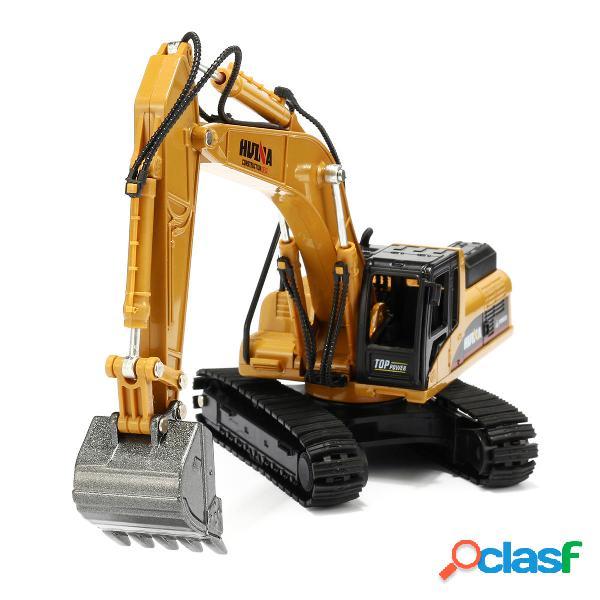 1:50 Aleación Excavadora Juguetes Ingeniería Vehículo