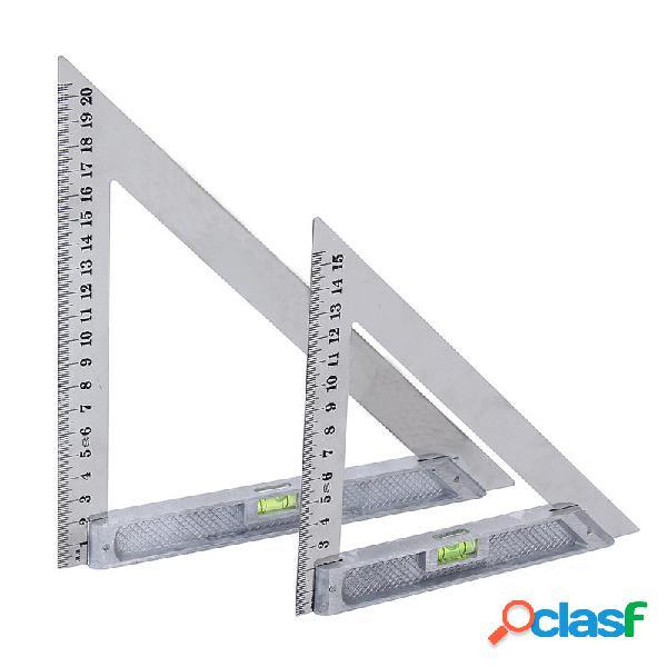 150 mm / 200 mm regla de ángulo de acero inoxidable 90