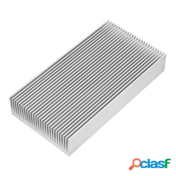 150x80x27mm Engrosamiento de aluminio del radiador LED
