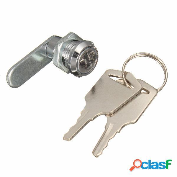 16 mm con llave igual cámara cerradura para Archivador