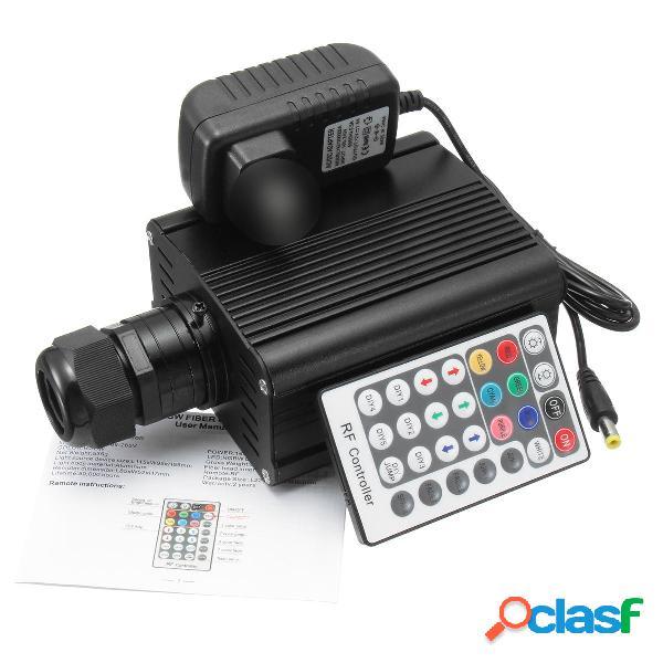 16W RGBW Motor Control remoto LED Luz de fibra óptica Kit