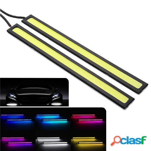 17 cm COB LED Luz de tira de circulación diurna DRL Coche