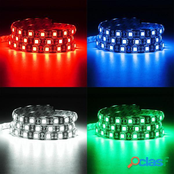 1M 4 pines blanco verde azul rojo LED Tira de luz para