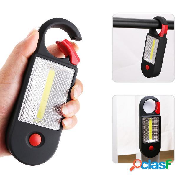 2 Modo COB LED al aire libre cámping Inspección de luz