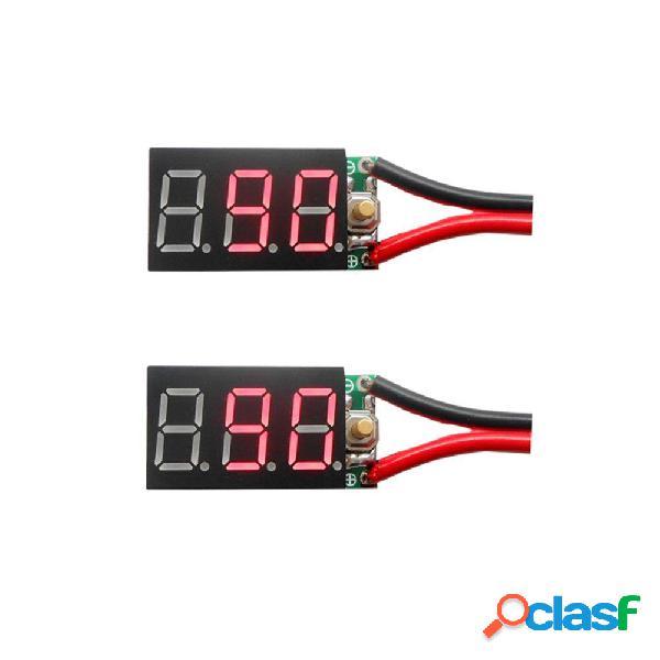 2 UNIDS 3S 12 V Pb Lipo Batería Instrumentos de Prueba Y