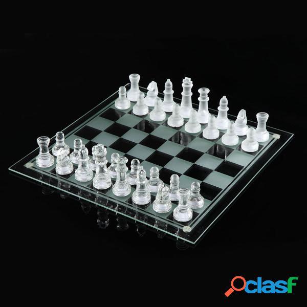 20 * 20/25 * 25 cm de gama alta elegante K9 juego de ajedrez