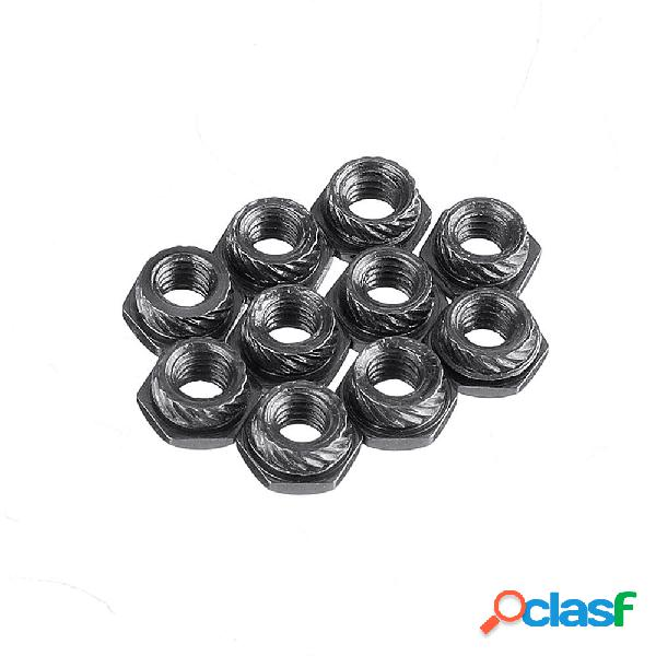 20 PCS Flywoo Revestimiento de acero al carbono M3 Hexagonal