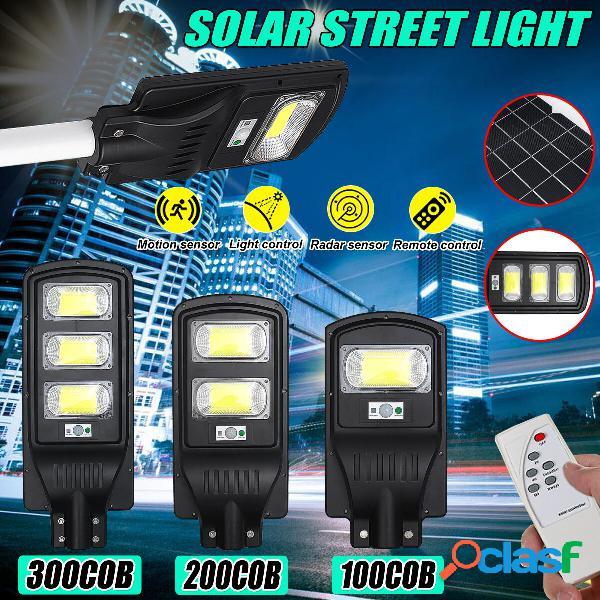 200/400 / 600W Solar Motion Sensor al aire libre Wall Street