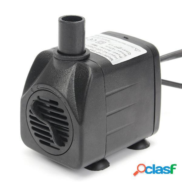 220V 50Hz / 60Hz 420L / h luz LED Bomba sumergible de agua