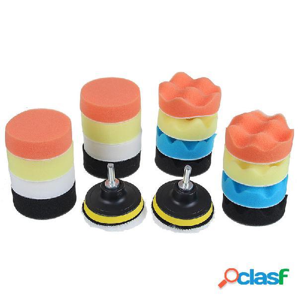 22pcs 3 Inch Kit de almohadilla de esponja de pulido