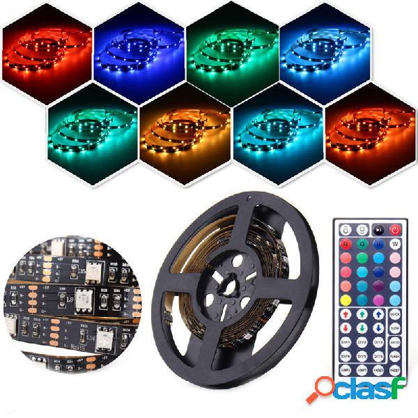 2PCS 50CM 100CM 5050 USB Powered RGB Cambio de color LED