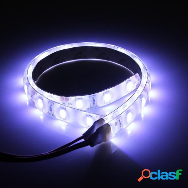 2pcs 25cm 12v 15 LED s 5630SMD luces de tira flexibles