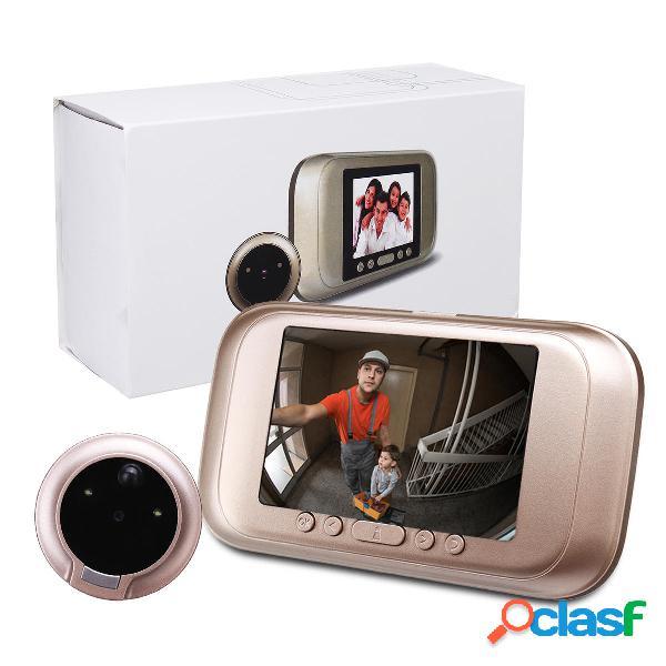 3.5 pulgadas 720P Digital Door Bell Cámara Video Timbre de