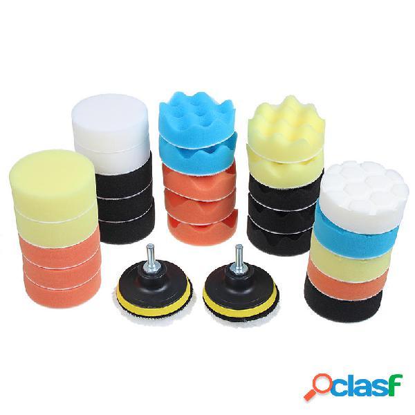 31pcs 3 Inch Almohadillas de pulido Almohadillas de pulido