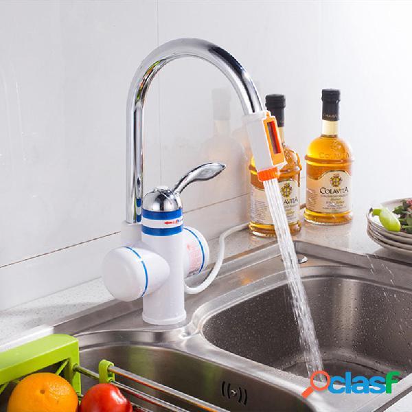 3KW 3 segundos Agua de ducha eléctrica instantánea