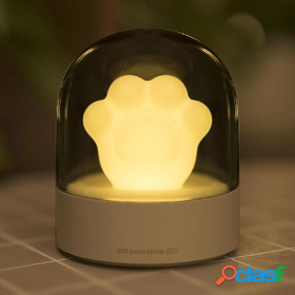 3Life 006 Creative Gato Paw Musical Night Light Carga USB