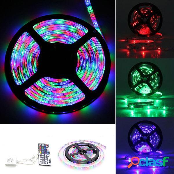 3M 5M 10M SMD3528 RGB no impermeable LED Tira de luz DC12V +