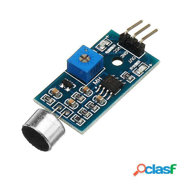 3Pcs Detección de voz Sensor Módulo Módulo de