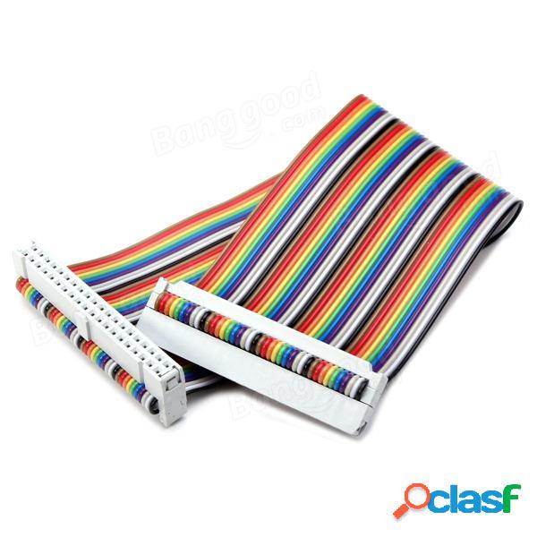 3Pcs GPIO 40P Cable de cinta arco iris para Raspberry Pi 2