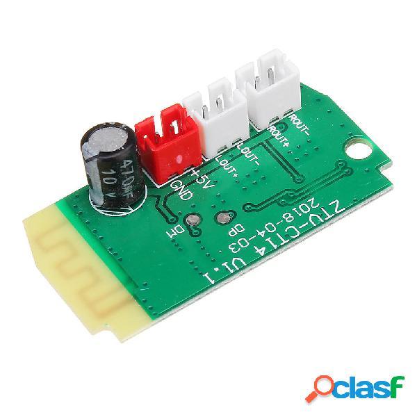 3Wx2 Mini Bluetooth Receptor Módulo Con Altavoces 4Ohm