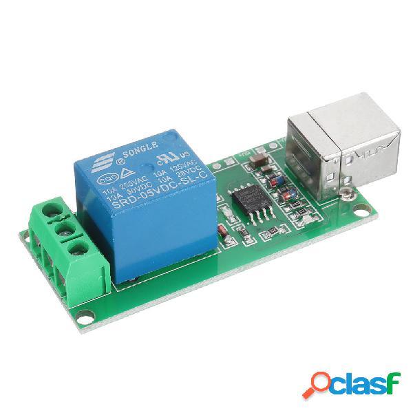 3pcs 1 canal 5V USB Relay Switch Control de computadora