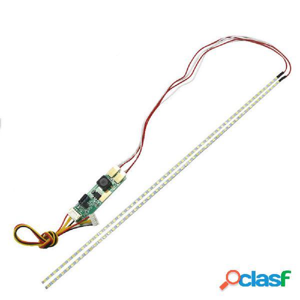 3pcs 540mm Brillo ajustable LED Kit de luz de tira de luz de