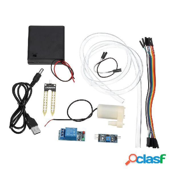 3pcs DIY Kit de módulo de riego automático Detección de