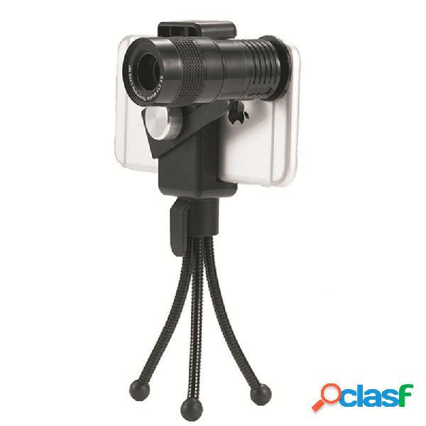 4 en 1 teléfono inteligente lente de la cámara de ojo de